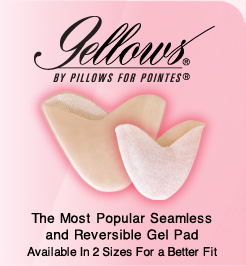 Gellows Reversibile Toe Pad